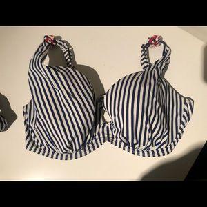 Panache Swim - PANACHE SWIM Supportive Nautical Bikini